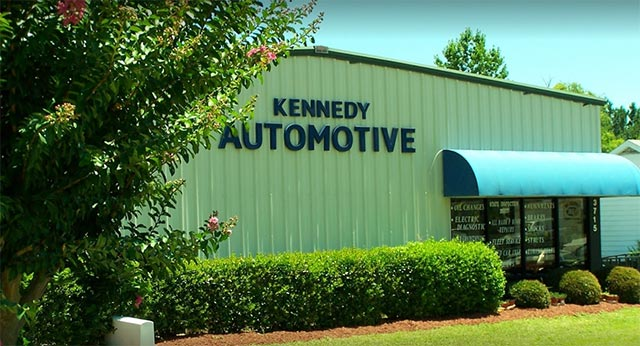 Kennedy Automotive Services shop in Wilmington
